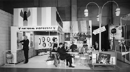 1950's National Disposers Booth